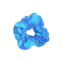 Bokeh Background Light Reflections Velvet Scrunchie
