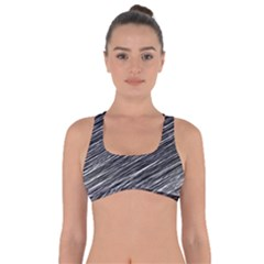 Background Structure Pattern Got No Strings Sports Bra