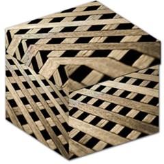 Texture Wood Flooring Brown Macro Storage Stool 12