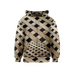 Texture Wood Flooring Brown Macro Kids  Zipper Hoodie