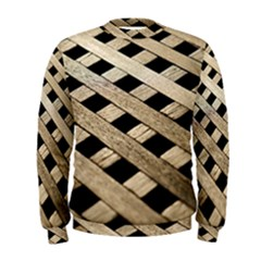 Texture Wood Flooring Brown Macro Men s Sweatshirt