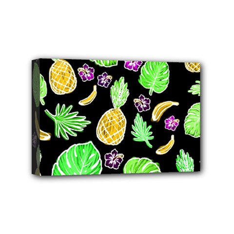 Tropical Pattern Mini Canvas 6  X 4  by Valentinaart