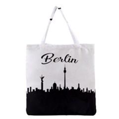 Berlin Grocery Tote Bag by Valentinaart