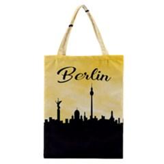 Berlin Classic Tote Bag by Valentinaart