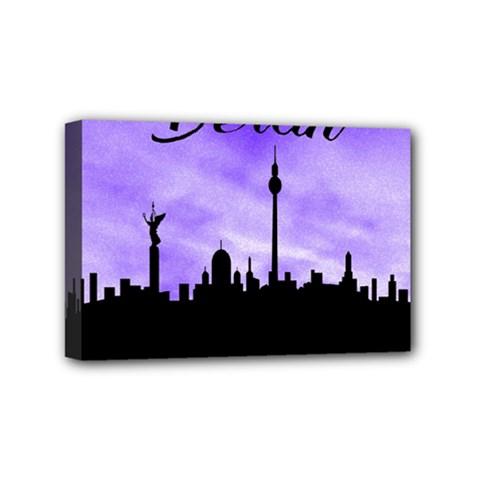 Berlin Mini Canvas 6  X 4  by Valentinaart