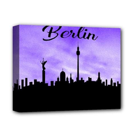 Berlin Deluxe Canvas 14  X 11  by Valentinaart