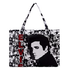 Elvis Presley Medium Tote Bag by Valentinaart