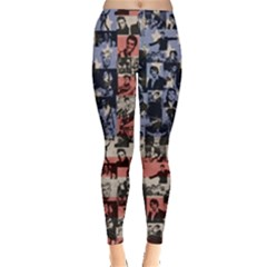 Elvis Presley Leggings  by Valentinaart