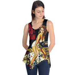 Attack Of The 50 Ft Woman Sleeveless Tunic by Valentinaart