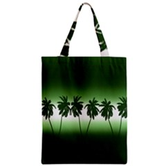 Tropical Sunset Classic Tote Bag by Valentinaart