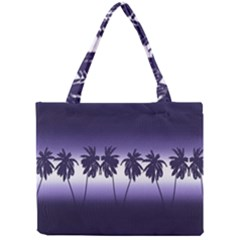 Tropical Sunset Mini Tote Bag by Valentinaart