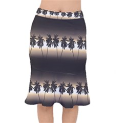 Tropical Sunset Mermaid Skirt by Valentinaart