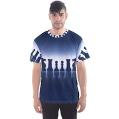 Chess Pieces Men s Sports Mesh Tee by Valentinaart