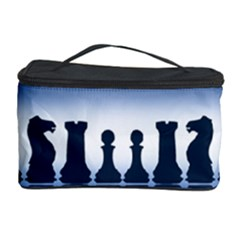 Chess Pieces Cosmetic Storage Case