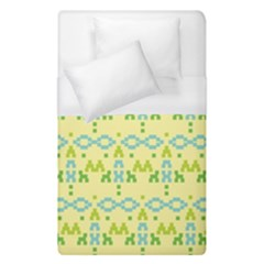 Simple Tribal Pattern Duvet Cover (single Size) by berwies