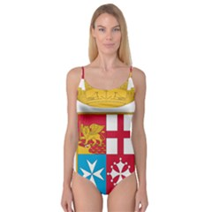 Coat Of Arms Of The Italian Navy  Camisole Leotard