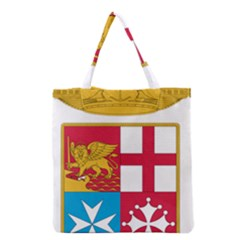 Coat Of Arms Of The Italian Navy Grocery Tote Bag by abbeyz71