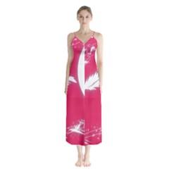 Hintergrund Tapete Texture Button Up Chiffon Maxi Dress