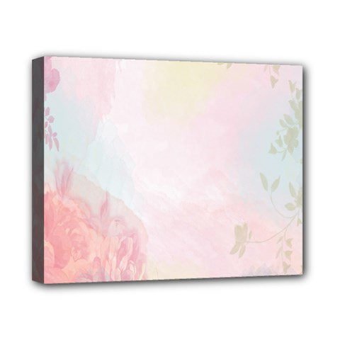Watercolor Floral Canvas 10  X 8  by Nexatart