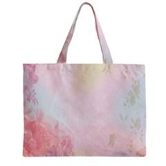 Watercolor Floral Mini Tote Bag