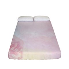 Watercolor Floral Fitted Sheet (full/ Double Size)
