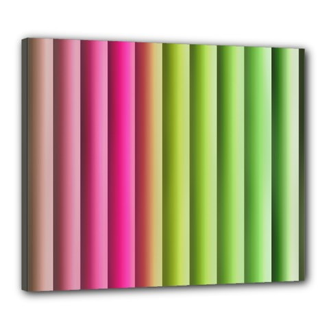 Vertical Blinds A Completely Seamless Tile Able Background Canvas 24  X 20  by Nexatart