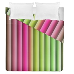 Vertical Blinds A Completely Seamless Tile Able Background Duvet Cover Double Side (queen Size)