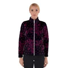 Pink Floral Pattern Background Winterwear