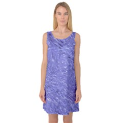 Thick Wet Paint H Sleeveless Satin Nightdress by MoreColorsinLife