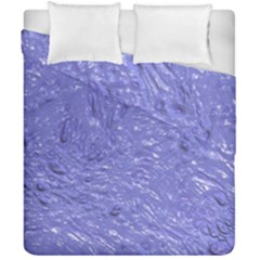 Thick Wet Paint H Duvet Cover Double Side (california King Size) by MoreColorsinLife