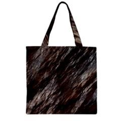Wet Stone 11 Zipper Grocery Tote Bag
