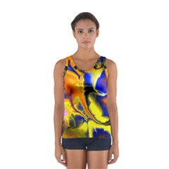 Fractal Art Pattern Cool Women s Sport Tank Top