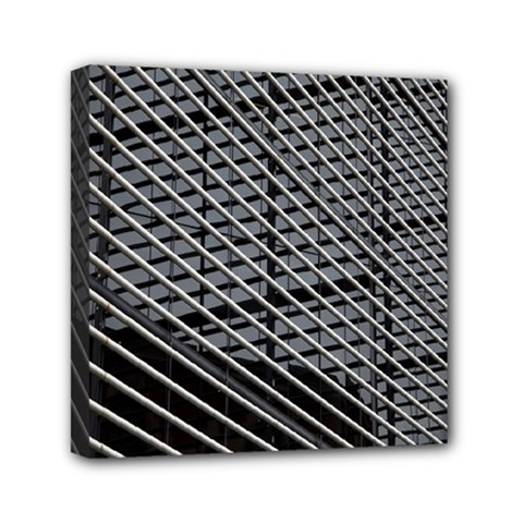 Abstract Architecture Pattern Mini Canvas 6  X 6