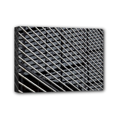 Abstract Architecture Pattern Mini Canvas 7  X 5