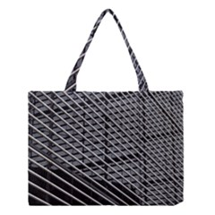 Abstract Architecture Pattern Medium Tote Bag