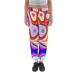 Colourful Abstract Background Design Women s Jogger Sweatpants