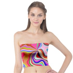 Colourful Abstract Background Design Tube Top