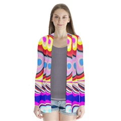 Colourful Abstract Background Design Cardigans