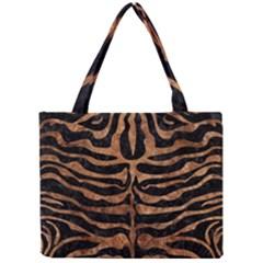 Skin2 Black Marble & Brown Stone Mini Tote Bag by trendistuff
