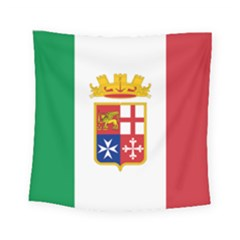 Naval Ensign Of Italy Square Tapestry (small) by abbeyz71