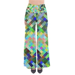 Pixel Pattern A Completely Seamless Background Design Pants by Nexatart