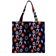 Cute Birds Seamless Pattern Grocery Tote Bag
