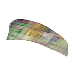 Woven Colorful Abstract Background Of A Tight Weave Pattern Stretchable Headband