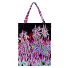 Fractal Fireworks Display Pattern Classic Tote Bag by Nexatart