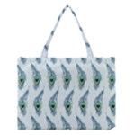 Background Of Beautiful Peacock Feathers Medium Tote Bag
