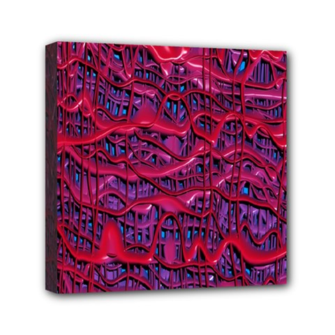 Plastic Mattress Background Mini Canvas 6  X 6  by Nexatart