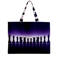 Chess Pieces Zipper Mini Tote Bag by Valentinaart