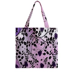 Floral Pattern Background Grocery Tote Bag by Nexatart