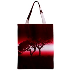 Sunset Zipper Classic Tote Bag by Valentinaart