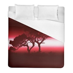 Sunset Duvet Cover (full/ Double Size) by Valentinaart